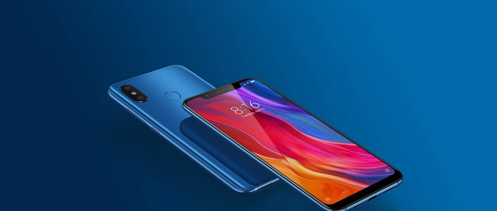 Le téléphone à écran flexible Xiaomi